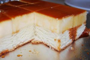 my favorite recipe, custard cake by malouprestado.wordpress.com
